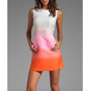 Diane von Furstenberg Carpreena Grad Stripe Dress